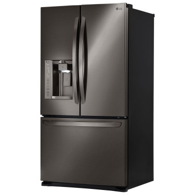 Black Stainless Fridge